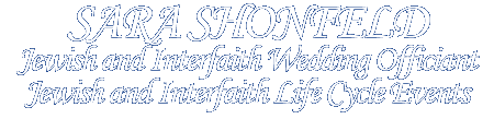 Sara Shonfeld: Interfaith Wedding Officiant